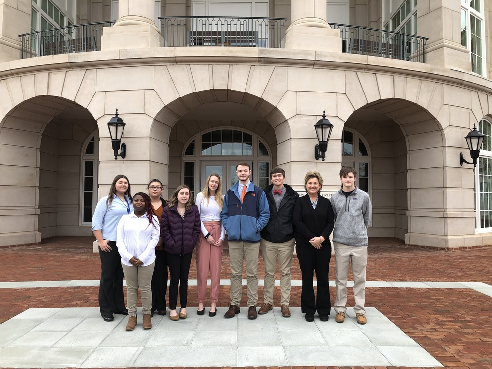 CHS DECA Members Compete at District Level at Liberty University