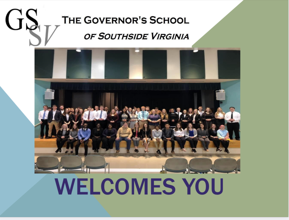 Are You a CHS 10th Grader Interested in Attending the Governor's School of Southside Virginia?