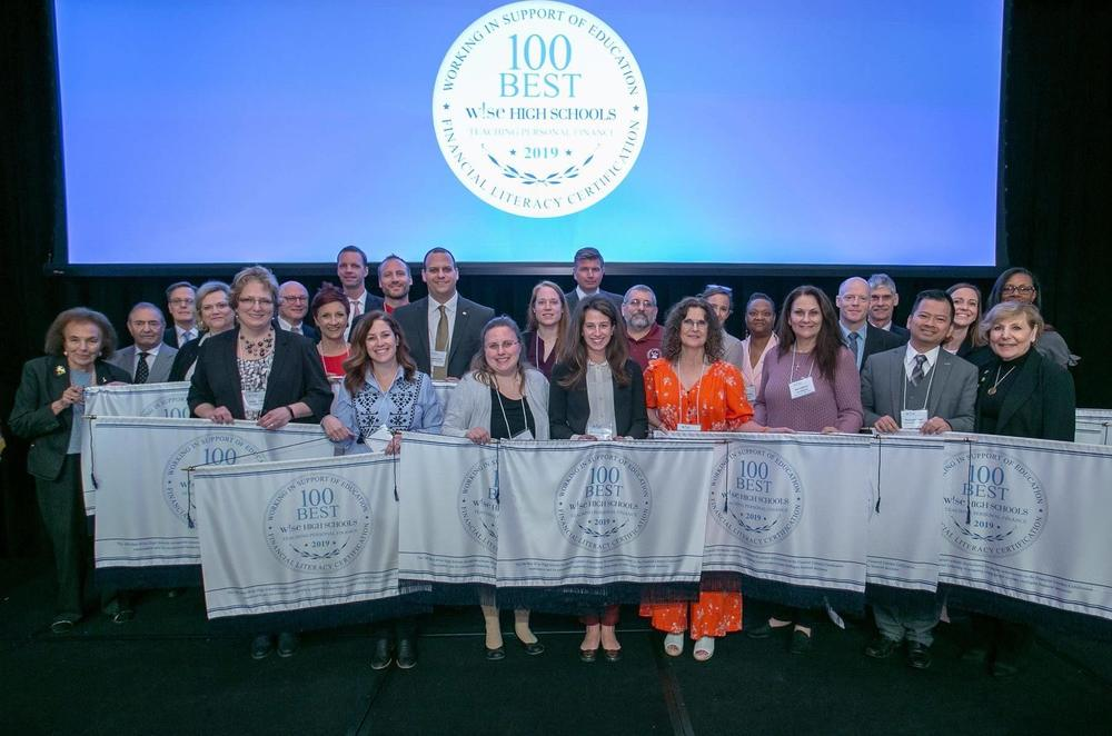 CHS Honored as One of the 2019 100 Best W!se High Schools Teaching Personal Finance