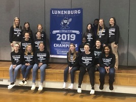 LMS Volleyball Team is Honored for Winning the SSMSC Championship
