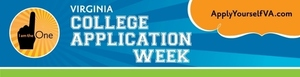 Virginia College Application Week is November 18-22, 2019