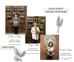 Congratulations LCPS SVRTC Award Winners 2019-2020!