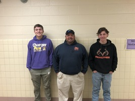 January CHS Marketing Co-op Students of the Month are Ben Anthony and Caleb Bailey