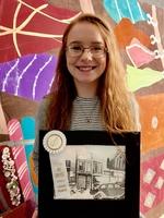 CHS Student Places Third Overall in VSBA Art Contest