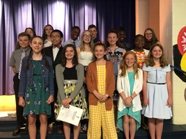 LMS NJHS Inducts New Members and Recognizes 8th Grade Members