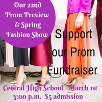 Prom Fashion Show 2020 - March 1 at 3 PM