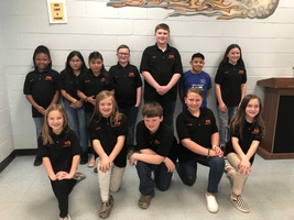 KES Student Council Presents at February 10 School Board Meeting