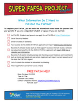 CHS Senior Parents are Invited to Super FAFSA Night at CHS