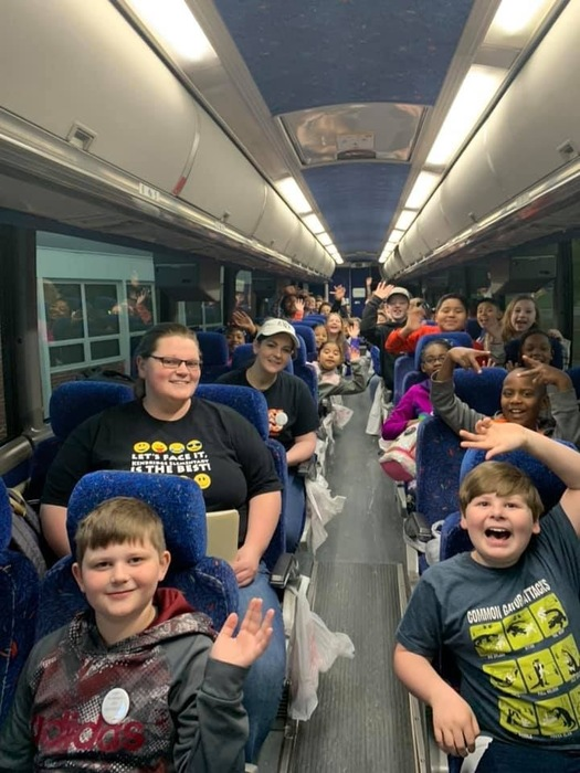 4th Graders headed to Jamestown