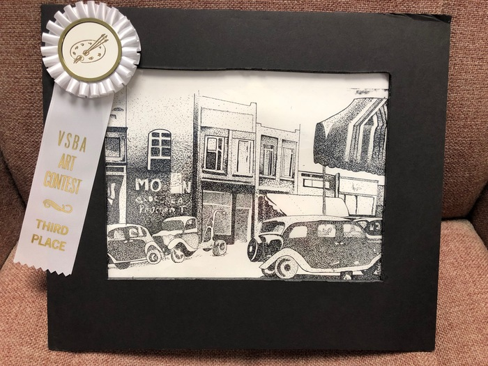 K. Snead - VSBA Art Contest - CHS - 3rd Place Overall