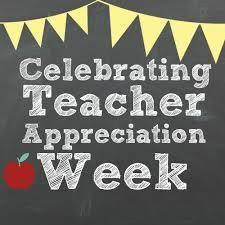 Celebrating Teacher Appreciation Week