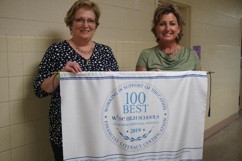 Hope Scott and Karen McGrath - CHS 100 Best W!se High Schools